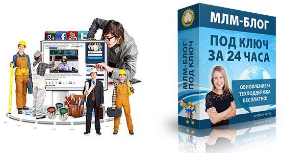 Создание и настройка МЛМ-блога за 24 часа для поиска друзей и партнеров