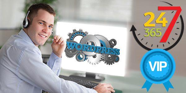 Комплексное техническое сопровождение сайта на WordPress с консультированием