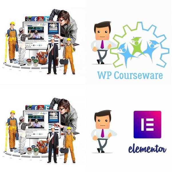 Установка плагинов  WP Courseware + Elementor Pro
